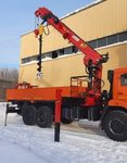 КМУ УММ76ТБ - Кран-манипулятор КМУ 8 тонн